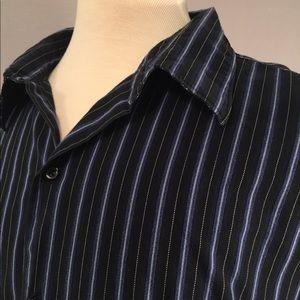 Claiborne Men's Button-Down Shirt, Size XXL